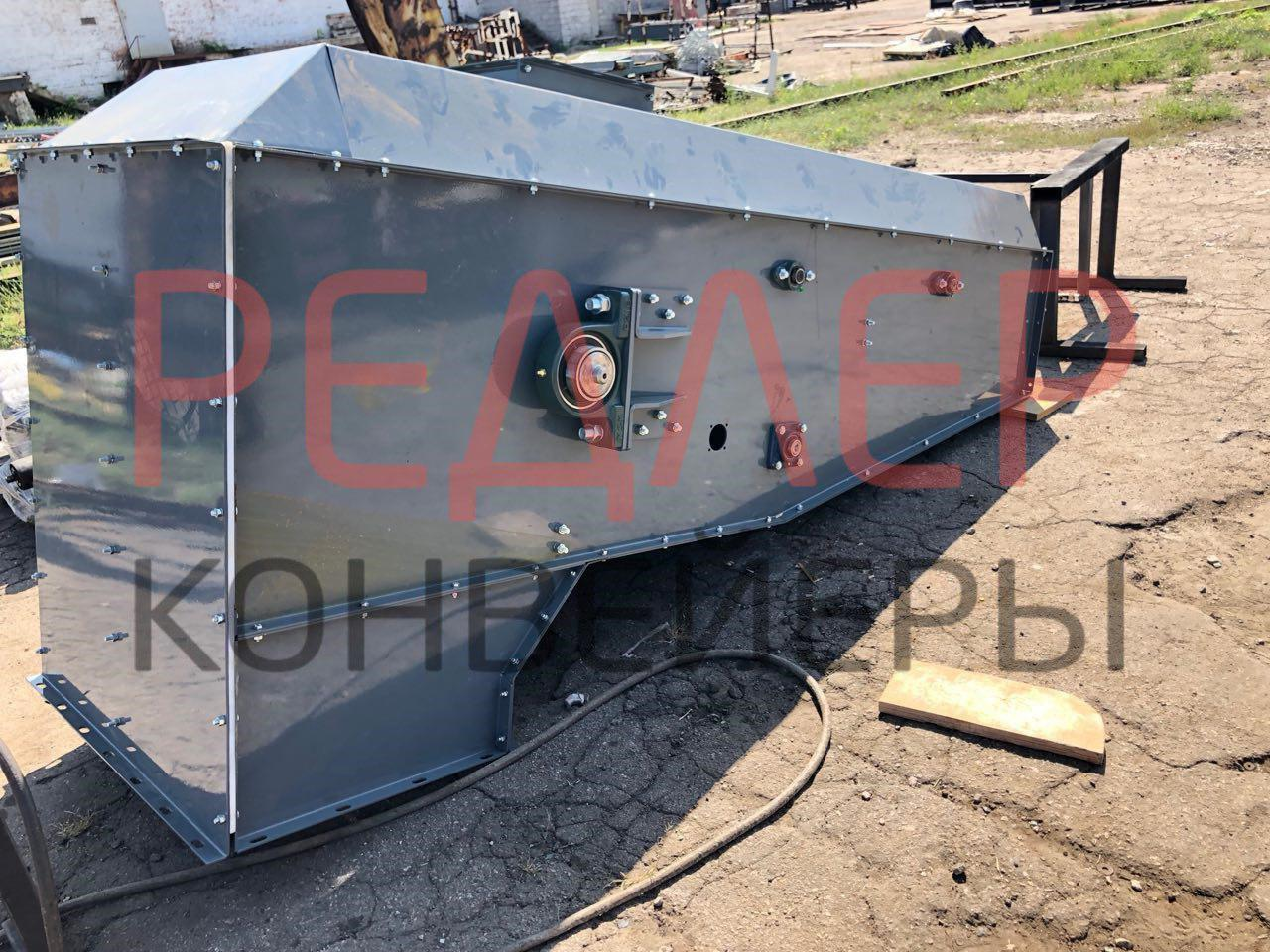 Конвейер ленточный в коробе ТЛК, закрытый конвейер