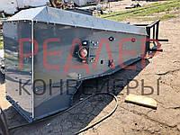 Конвейер ленточный в коробе ТЛК, закрытый конвейер, фото 1