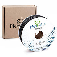 PLA/ПЛА пластик чёрного цвета Ø1.75мм для 3D принтера, 3D ручки 300м (900г), 400м (1,185г)  от Plexiwire