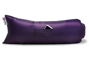Надувной шезлонг (ламзак) Оxford pu Фиолетовый