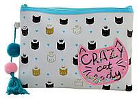 """Пенал - косметичка TP-13 """"Crazy Cat"""" «YES» 532500, фото 1"""