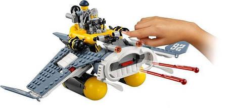 "Конструктор Ninjago Movie Lepin 06055 (аналог Lego 70609) ""Бомбардировщик Морской дьявол"" 364 детали, фото 3"