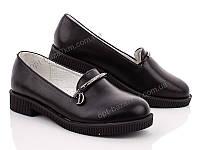 Туфли детские Mei De Li 10002-7A black (31-37) - купить оптом на 7км в одессе