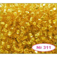 Чешский бисер Preciosa 311-17050,  золото,  блестящий