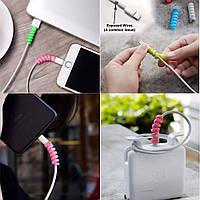Протектор кабеля - защита от перелома (комплект из 4 шт), фото 1