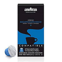 Капсулы Nespresso Lavazza Decaffeinato Ricco 10шт