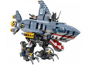 Конструктор Ninjago Movie Bela 10799 (аналог Lego 70656) Морской дьявол Гармадона 872 детали, фото 3