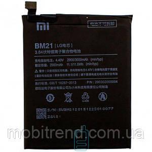 Аккумулятор Xiaomi BM21 2900 mAh Mi Note AAAA/Original тех.пакет