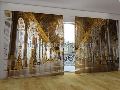"Панорамные Фотошторы ""Версаль"" 270 х 500 см фото шторы панорамні штори"