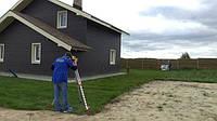 Выполняем работы по разбивке участка, лазерным нивелиром, фото 1