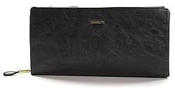 Очень стильный и блестящий кошелечек на две молнии SARALYN art. J-8996 Черный
