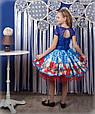 """Красивое нарядное детское платье """"Маки"""", фото 2"""