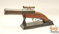 Пистолет - зажигалка с лазером
