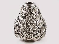 Ваза для декора Серебряная роза