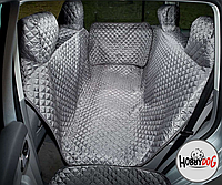 Гамак для перевозки собак в автомобиле HobbyDog 220x140 A002 см серый