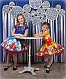 """Красивое нарядное детское платье """"Маки"""", фото 3"""