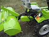 Почвофреза с редуктором для мототрактора DW150RX, фото 3