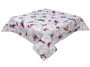 Скатерть тканевая гобеленовая пасхальная квадратная Limaso 137 х 137 см Лимасо