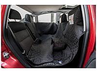 Автогамак для перевозки собак в автомобиле HobbyDog A003 190x140 см черный