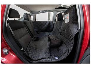 Гамак для перевозки собак в автомобиле HobbyDog A003 190x140 см черный