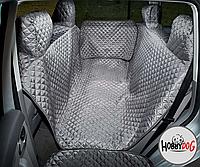 Гамак для перевозки собак в автомобиле HobbyDog A004 190x140 см серый
