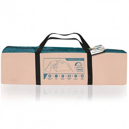 Палатка 68015 (200+305)*305*200 см), 5-местная, антимоскитная сетка, сумка, фото 2