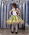"Детское платье ""Жар птица"" желтого цвета, фото 3"
