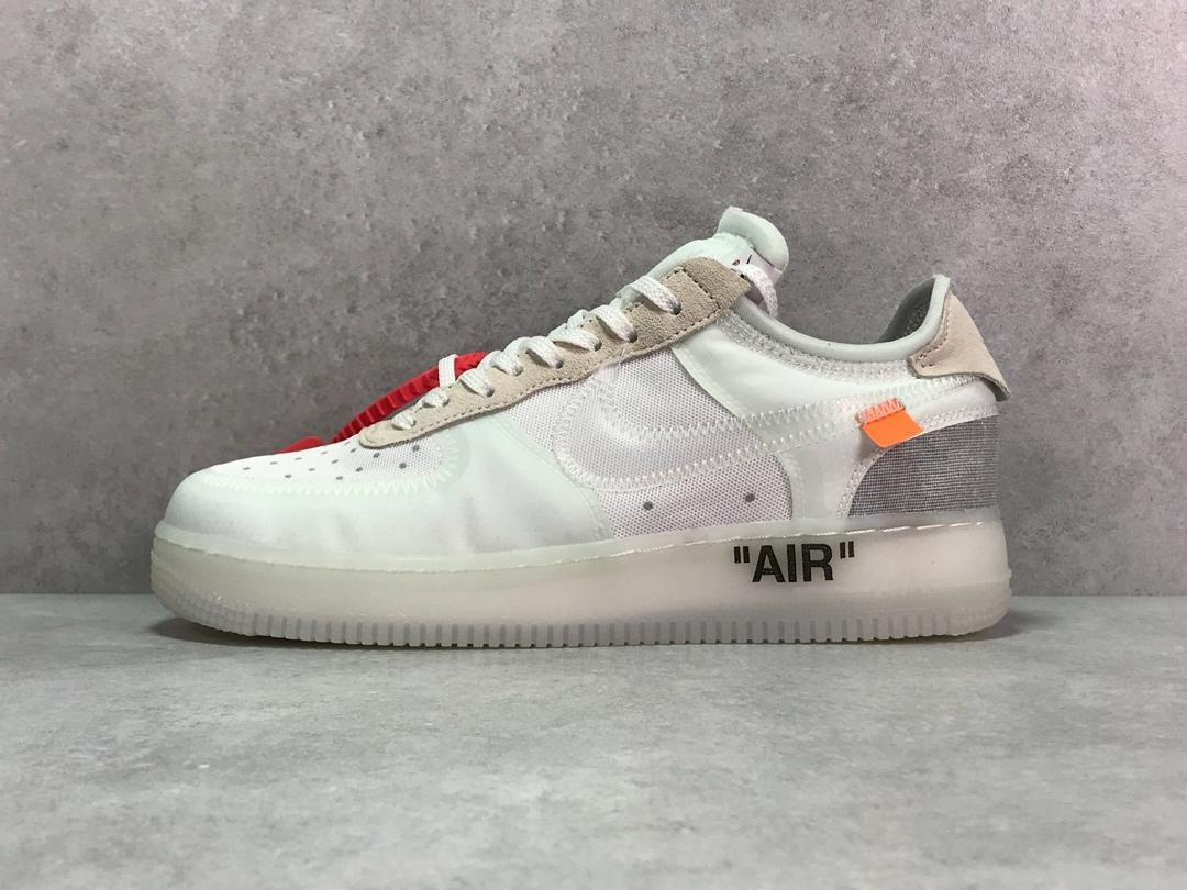9c68f6f3 Кроссовки Off White X Air Force 1 Low - White - Компания