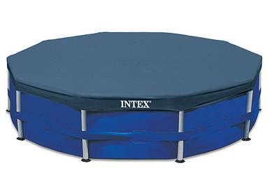 Тент для бассейна Intex 28032, каркасный 457 см