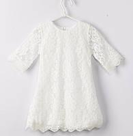 Гипюровое платье для девочки размер 104., фото 1
