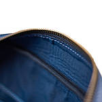 Сумка мужская из натуральной кожи Конг VS014  blue, 30х34х13, фото 4