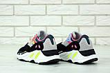 Женские кроссовки Adidas Yeezy Boost 700 KAWS в стиле Адидас Изи Буст (Реплика ААА+), фото 3