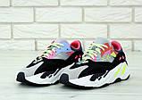 Женские кроссовки Adidas Yeezy Boost 700 KAWS в стиле Адидас Изи Буст (Реплика ААА+), фото 4