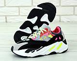 Женские кроссовки Adidas Yeezy Boost 700 KAWS в стиле Адидас Изи Буст (Реплика ААА+), фото 5