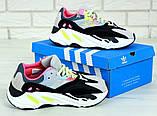 Женские кроссовки Adidas Yeezy Boost 700 KAWS в стиле Адидас Изи Буст (Реплика ААА+), фото 6