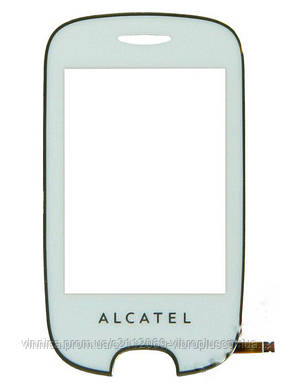 Тачскрин (сенсор) Alcatel 602D One Touch, white (белый), фото 2