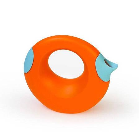Лійка QUUT CANA 0,5 L помаранчева з блакитним, фото 2