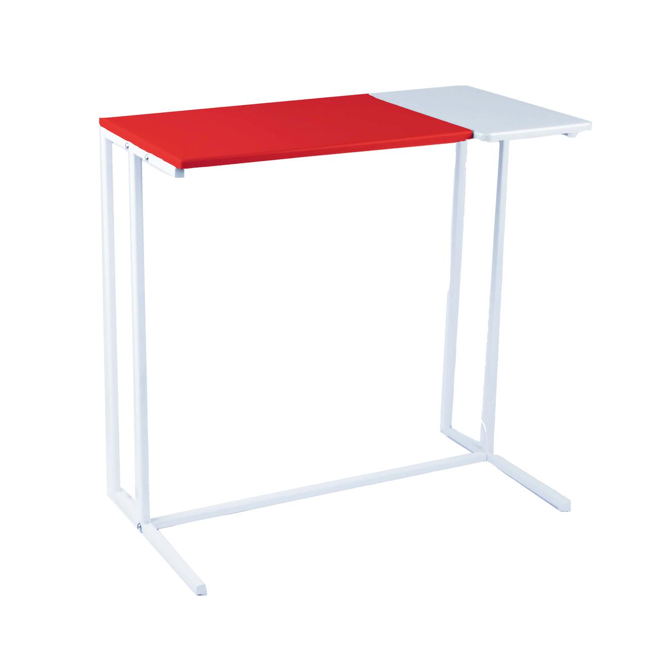 Стіл приставний предметів для комфорту та IT-техніки Commus Comfort A600 red/white/white