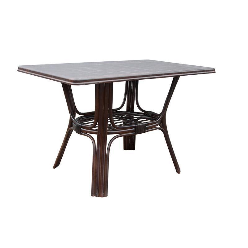 Прямоугольный столик из ротанга Барселона мдф ЧФЛИ 720х1200х750 мм