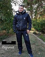 Спортивный мужской костюм на синтепоне 1079 ВП Код:772749982