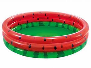 Дитячий надувний басейн Intex 58448 «Кавун», 168 х 38 см