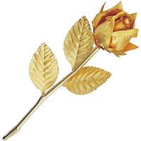 Золотая Роза в подарочной коробке GOLDEN (702 HB)