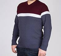 Стильный легкий мужской свитер