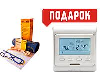 Теплый пол Grand Meyer нагревательный двухжильный мат EcoNG150-300Вт/2м2+терморегулятор In-term E 51