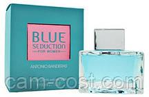 Туалетная вода ANTONIO BANDERAS Blue Seduction for Women (ORIGINAL) 80 мл