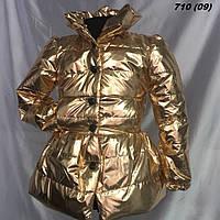 Пальто на девочку на синтепоне нарядное 710 (09) Код:783159645, фото 1