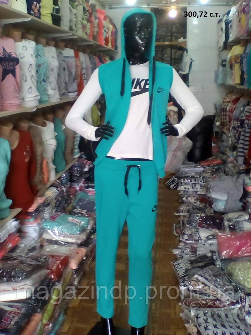 Спортивный женский костюм тройка 300,72 с.т. Код:770651922