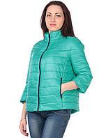 Женская демисезонная куртка IRVIC 1070 42 Бирюзовый IrC-1070-42, КОД: 259029
