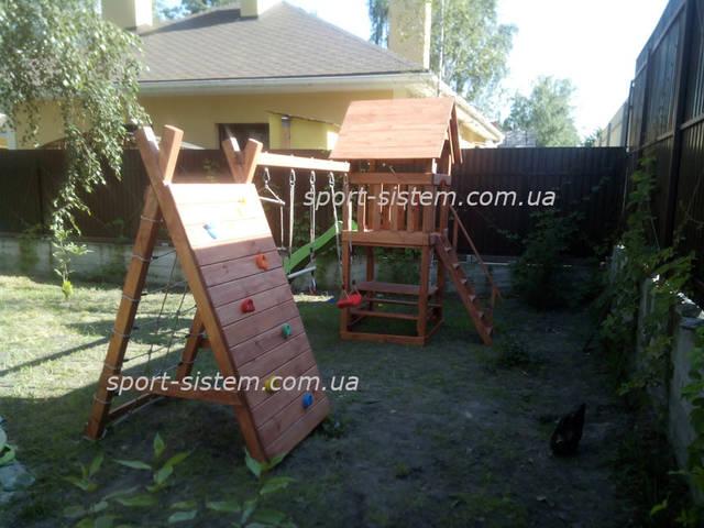 Детская игровая площадка Антошка (установка в киевской области)