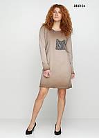 Платье женское с камнями 2813 Св Код:908904919